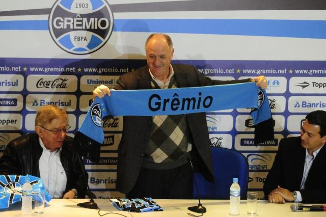 As frases que marcaram a apresentação de Felipão no Grêmio Ronaldo Bernardi/Agencia RBS