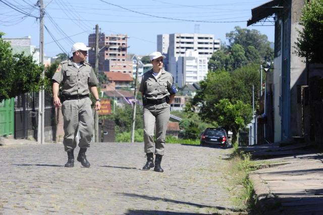 Policiamento Comunitário está presente em 35% dos municípios com mais de 50 mil habitantes Roni Rigon/Agencia RBS