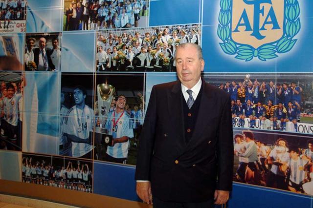 Morre Julio Grondona, presidente da Federação Argentina Conmebol/Divulgação/