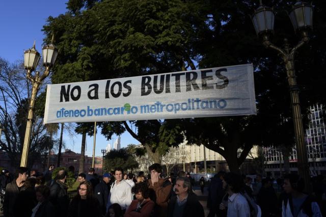 ZH explica: o caso da Argentina contra os fundos especulativos Juan Mabromata/AFP