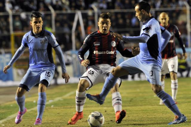 San Lorenzo garante vaga na final da Libertadores e vai enfrentar o Nacional-PAR AIZAR RALDES / AFP/