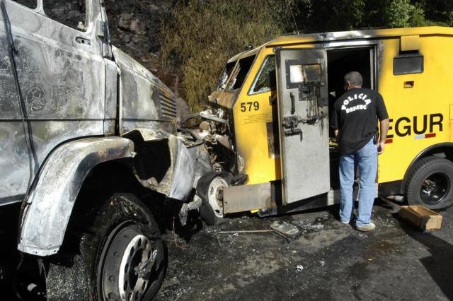Dez anos após onda de ataques a carros-fortes, saiba onde estão os principais criminosos Jefferson Botega/Agencia RBS