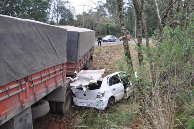 Acidente deixa três mortos em Santiago Arami Fumaco/Especial