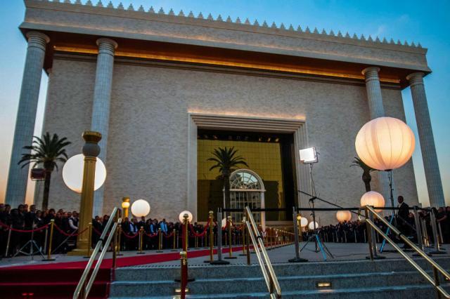 Inauguração de templo da Universal tem cortes de energia Cris Faga/Estadão Conteúdo