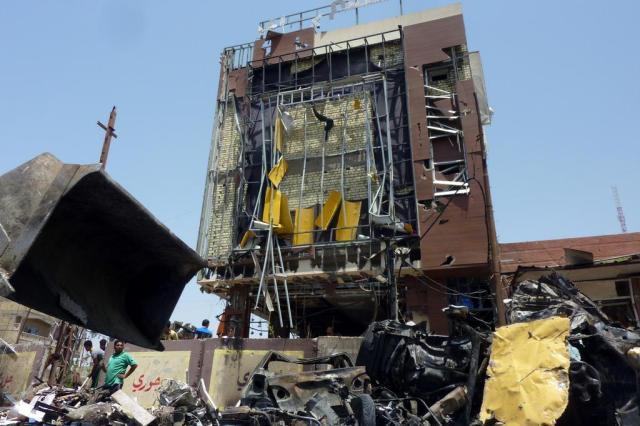 Série de atentados em Bagdá deixa 10 mortos e 29 feridos ALI AL-SAADI/AFP