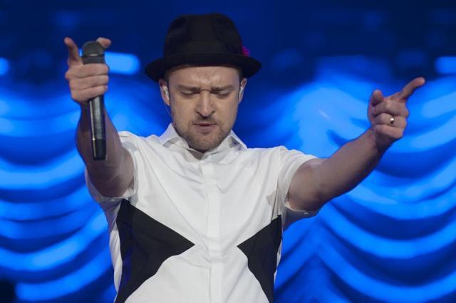 Justin Timberlake deve ser atração principal do Lollapalooza Brasil 2015 Shutterstock/