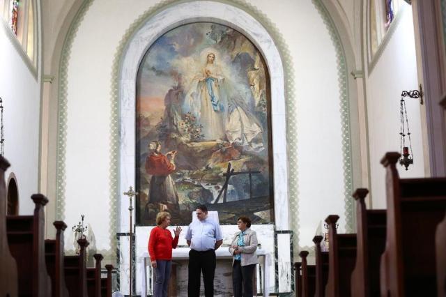 Igreja da Capital pede ajuda para restaurar obra de Aldo Locatelli  Tadeu Vilani/Agencia RBS
