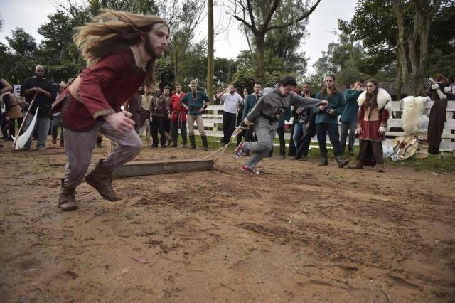 Festival celebra a Idade Média em Charqueadas Félix Zucco/AgênciaRBS