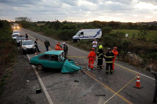Acidentes de trânsito fazem duas vítimas na região central do Estado Fernando Ramos/Agência RBS