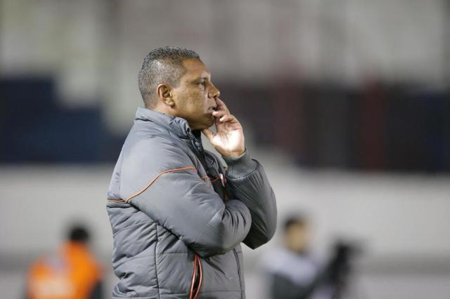 Mesmo com grande campanha, técnico da Chapecoense prega 'pés no chão' Jefferson Botega/Agencia RBS