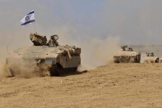 Ameaça de túneis do Hamas esvazia kibutz israelense de Kfar Aza GIL COHEN-MAGEN/AFP