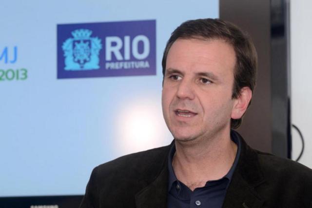 Prefeito do Rio defende preparação para Olimpíadas e alfineta Fifa J.P.Engelbrecht/Prefeitura Rio