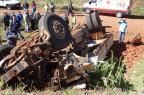 Acidente entre caminhão e caminhonete deixa mãe e filho mortos na BR-386, em Seberi Cleiton Viana/Folha do Noroeste