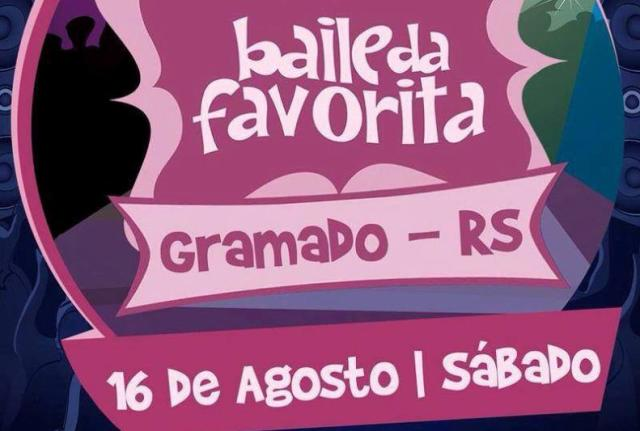 O funk chique do Baile da Favorita vai invadir Gramado Divulgação/