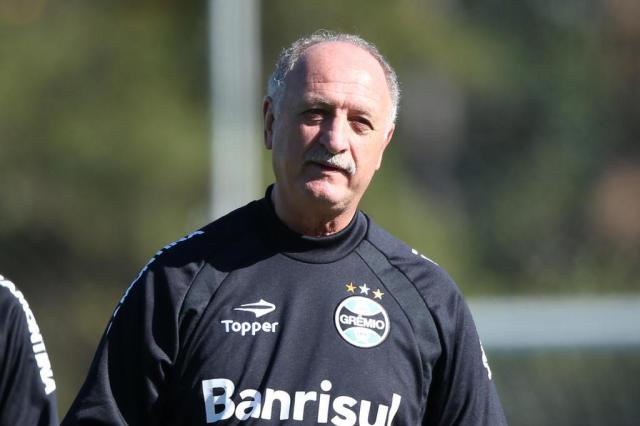 Felipão deve reforçar a defesa do Grêmio para encarar o Gre-Nal Diego Vara/Agencia RBS