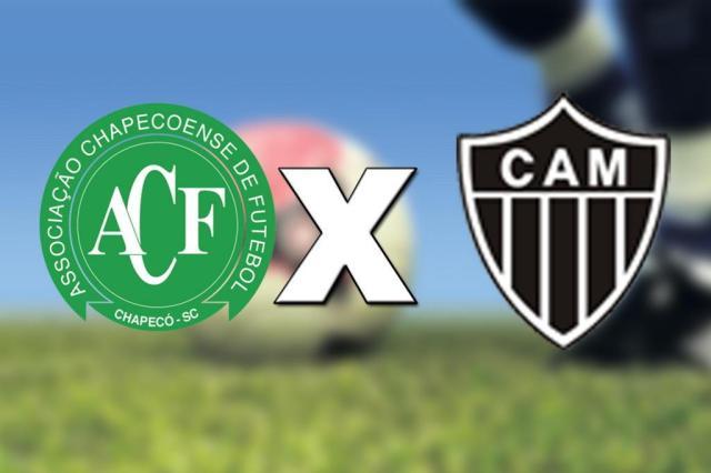 Chapecoense aposta na força da Arena Condá para derrotar o Atlético-MG Arte/DC