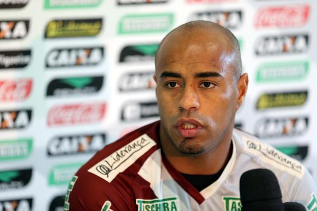 Thiago Heleno quer sequência de vitórias do Figueirense para deixar o Z-4 Cristiano Estrela/Agência RBS