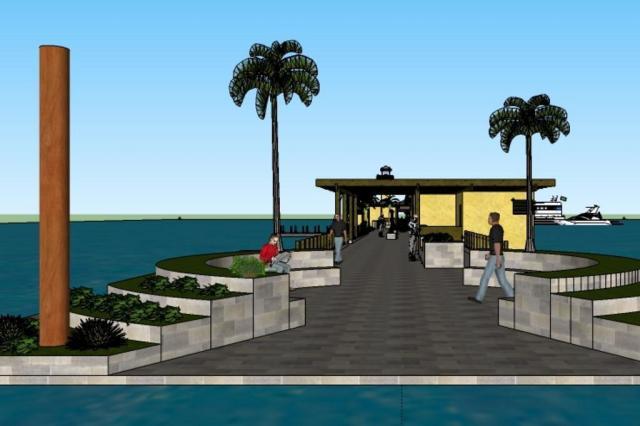 Prefeitura planeja construir píer com terminal de passageiros em Ipanema Marcelo Allet/SMURB/PMPA,Divulgação