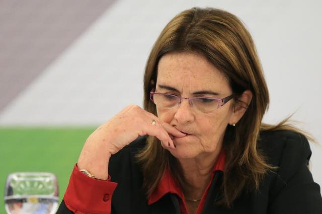 Julgamento que poderia bloquear bens de Graça Foster é suspenso Diego Vara/Agencia RBS