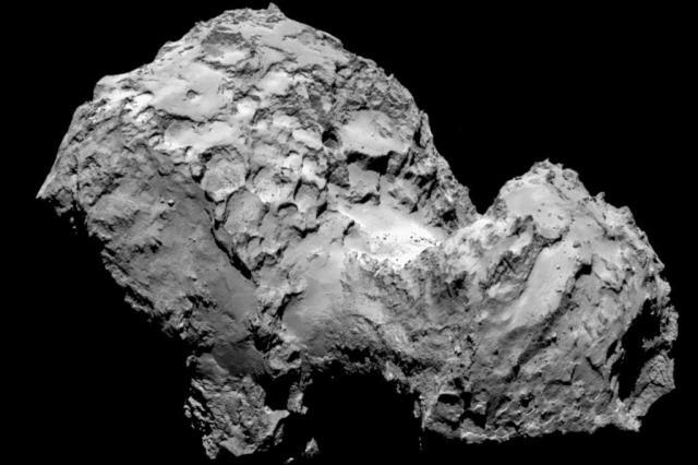 Sonda europeia Rosetta chega a cometa após 10 anos de navegação pelo espaço ESA/Rosetta/MPS for OSIRIS Team/AFP