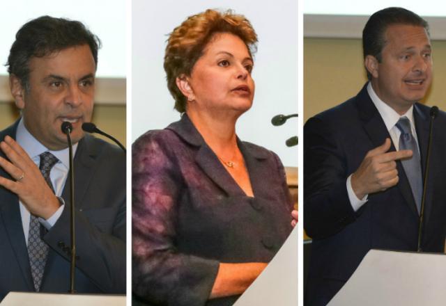 Presidenciáveis tentam fisgar votos entre produtores Montagem sobre fotos de José Paulo Lacerda/CNI e Ichiro Guerra/Dilma 13/