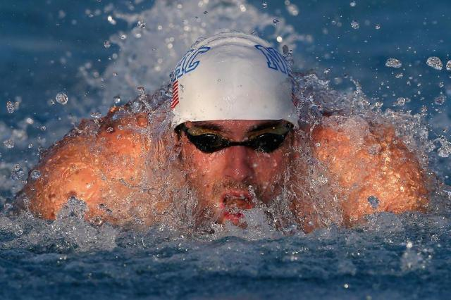 Phelps chega em penúltimo na final dos 100m livre no USA Swimming Christian Petersen/GETTY IMAGES NORTH AMERICA