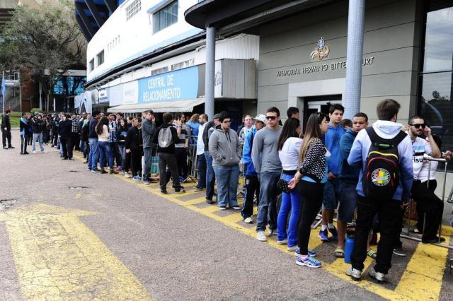 Ingressos destinados ao Grêmio estão esgotados para o Gre-Nal 402 Ronaldo Bernardi/Agencia RBS