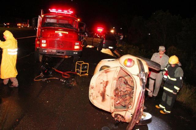Suspeitos de assalto morrem em acidente em Passo do Sobrado Bruno Pedry/Gazeta do Sul