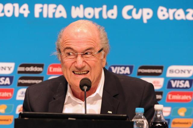 Blatter reconhece Palmeiras como campeão mundial de clubes de 51 TASSO MARCELO/AFP