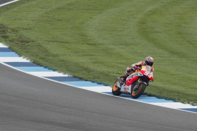 Imbatível, Marc Márquez é o pole do GP de Indianápolis AFP/AFP