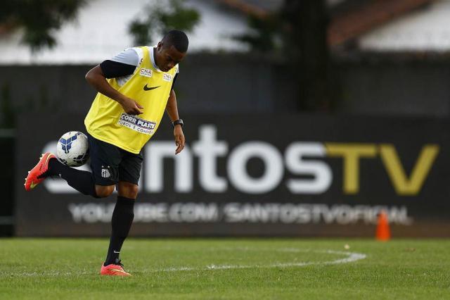 Antes de clássico, Santos fará festa para reapresentar Robinho na Vila Belmiro Ricardo Saibun/Santos FC