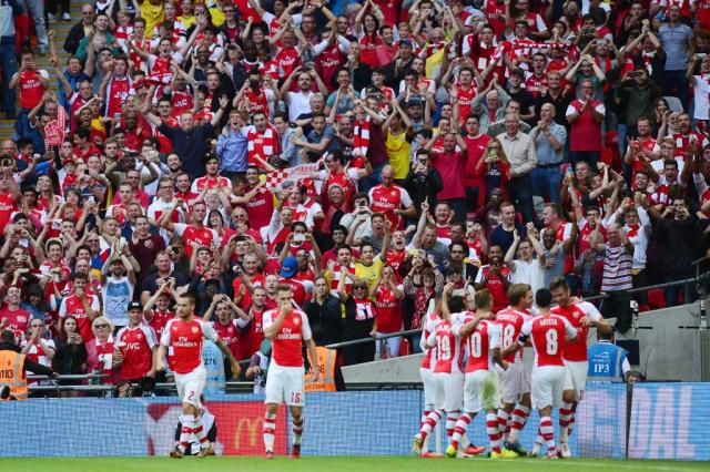 Arsenal bate o City e conquista a Supercopa da Inglaterra CARL COURT / AFP/