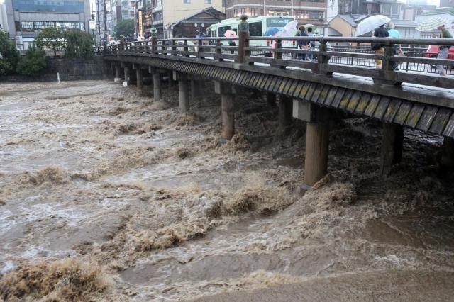 Rebaixado à tempestade tropical, tufão Halong deixa 10 mortos no Japão Jiji Press / Japan Out/AFP