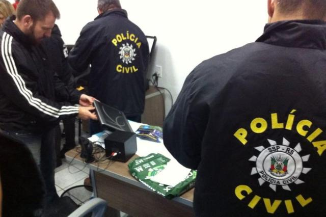 Polícia apura fraude na obtenção de vagas em creches de Canoas Polícia Civil/Divulgação