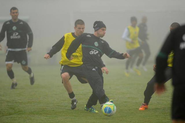 Zagueiro Diogo e atacante Douglas ficam de fora de treinamento técnico do Juventude nesta terça-feira Diogo Sallaberry/Agencia RBS