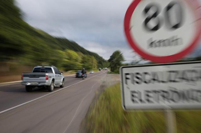 Como é determinada a velocidade máxima das rodovias Patrick Rodrigues/Agencia RBS