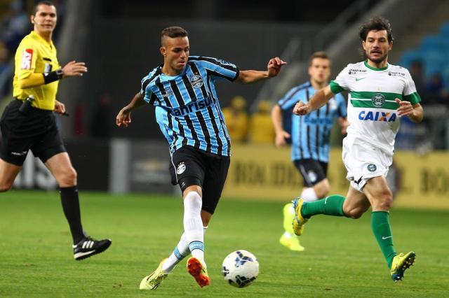 Da ascensão à lesão: os altos e baixos do garoto Luan no Grêmio LUCAS UEBEL/Grêmio/Divulgação