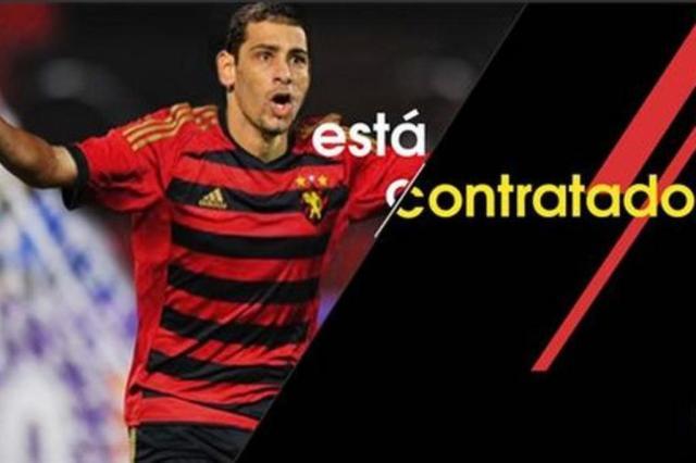 Sport anuncia contratações de Diego Souza e Ibson Reprodução/ Site do Sport/