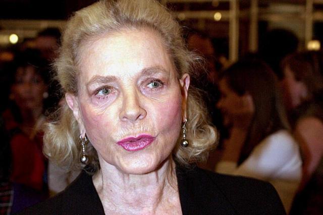 Morre Lauren Bacall, atriz da era de Ouro de Hollywood Ver Descrição/Ver Descrição