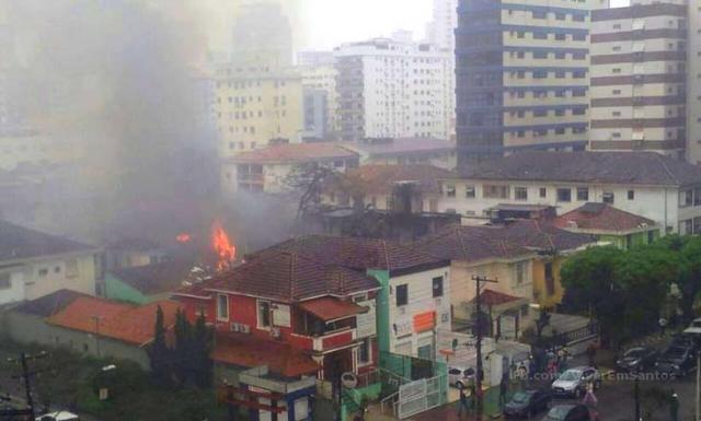 Três possíveis motivos para o acidente que matou Campos Divulgação / Viver em Santos/