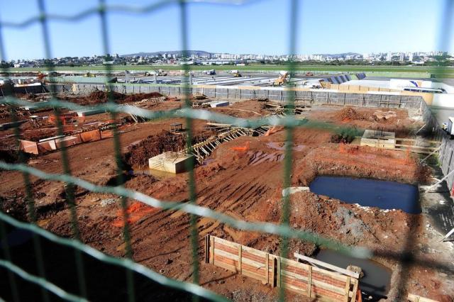 Obras no aeroporto Salgado Filho voltam a ser paralisadas Ronaldo Bernardi/Agencia RBS