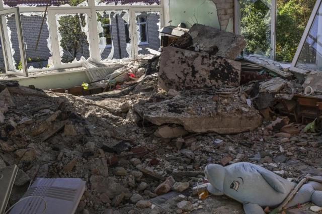 Ucrânia passa por problemas em cidade retomada dos rebeldes Mauricio Lima/NYTNS