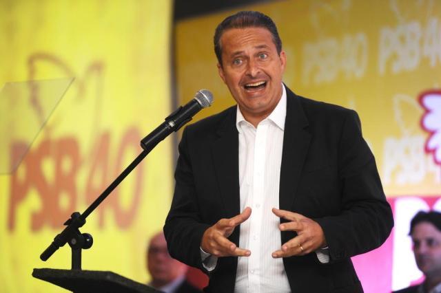Eduardo Campos foi o primeiro candidato à Presidência a morrer em acidente de avião em plena campanha eleitoral Daniel Conzi/Agencia RBS