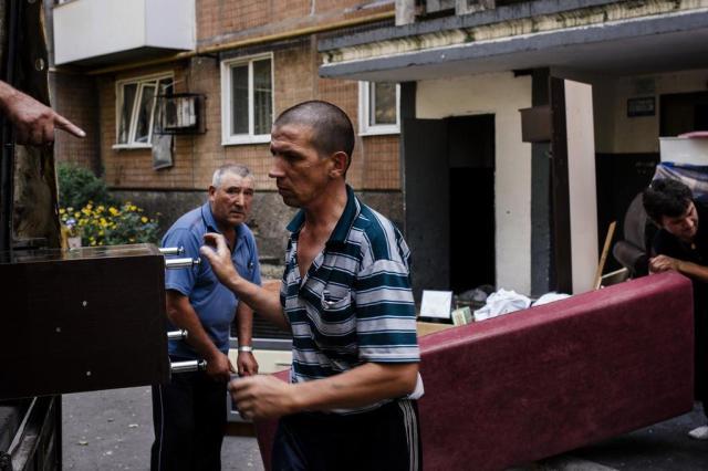 Confrontos deixam 11 civis mortos em Donetsk DIMITAR DILKOFF/AFP