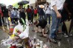Toque de recolher é mantido em Ferguson e protestos continuam Joshua LOTT/AFP