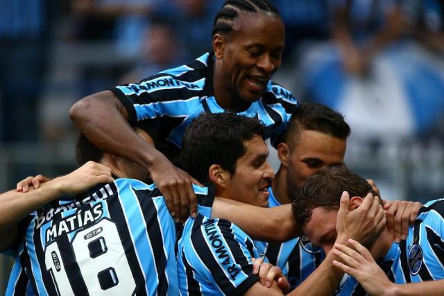Grêmio vence o Criciúma por 2 a 0 na estreia de Felipão na Arena Mauro Vieira/Agencia RBS