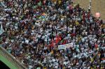 Mais de cem mil participam de cortejo de Eduardo Campos em Recife