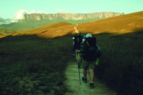 Monte Roraima é opção para quem gosta de natureza e aventura (Alfredo Fedrizzi/Arquivo Pessoal)