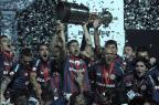 San Lorenzo embarca nesta terça para levar a taça da Libertadores ao Papa ALEJANDRO PAGNI/AFP
