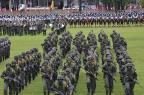 Mais de mil militares comemoram o Dia do Soldado na Capital Divulgação CMS/